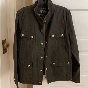 J. Crew Relaxed Boyfriend Field Jacket